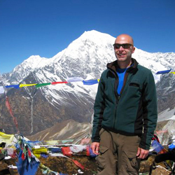 Elie Sasson, founder of Green Dream Tours Nepal